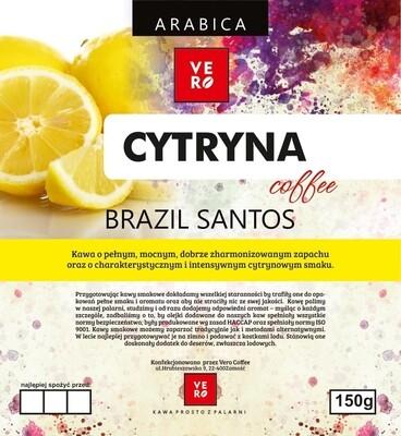 Kawa Ziarnista Vero 100% Arabika Cytrynowa