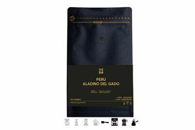Kawa ziarnista Peru Aladino Del Gado