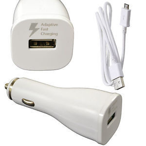 New Original Samsung Adaptive Dual Fast Rapid Charger for Auto Accessory port, Micro USB.