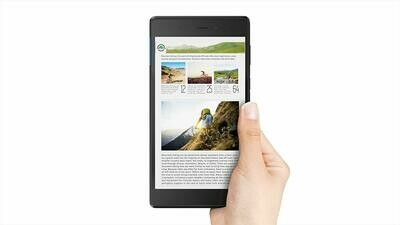 Lenovo Tab 7 ZA300146US 16Gb SSD 1GB RAM 1.3GHz Android 7 (1280x800) Touchscreen BT Webcam Slate Black Branded Box Refurbished