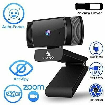 Generic USB webcam 1080 HD with microphone