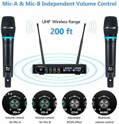 Kithouse Wireless Microphone system for Karaoke