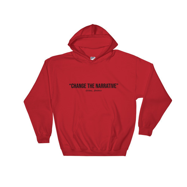 "Change The Narrative"" Unisex T-Shirt (Red Edition)"