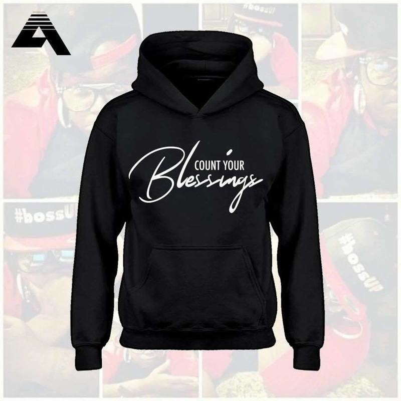[Blk] Count Your Blessing Hoodie