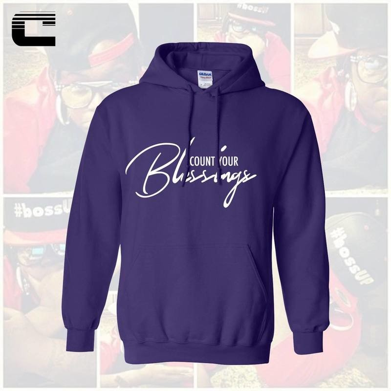 [Prpl] Count Your Blessings Hoodie