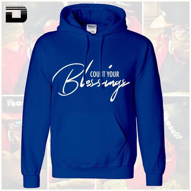 [Blu] Count Your Blessings Hoodie