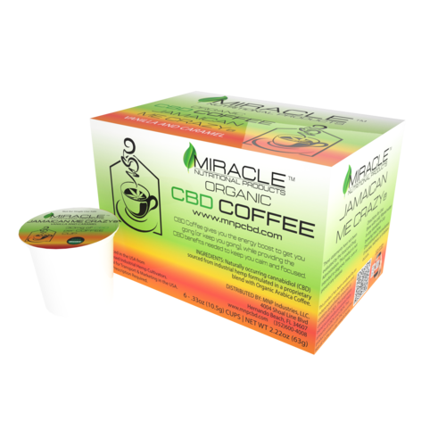 Jamaican Me Crazy CBD Coffee Single Serve Cup (Box of 6)