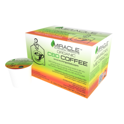 Jamaican Me Crazy CBD Coffee Single Serve Cup (Box of 6)