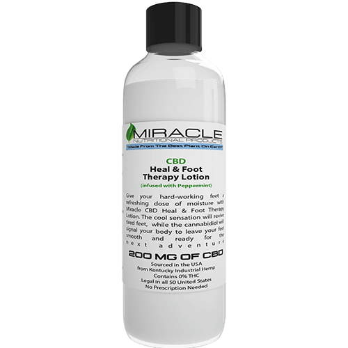 CBD Heal & Foot Therapy Lotion Infused with Peppermint