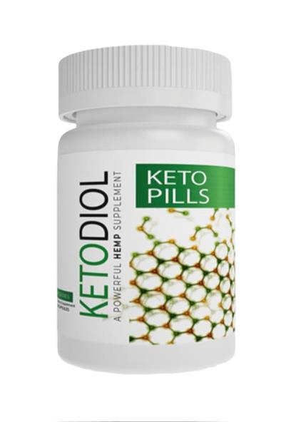 Ketodiol CBD Diet Supplement 30ct, 60ct, 120ct Pills