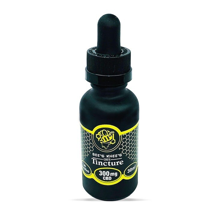 Bees Knees CBD Oil Tincture Sizes 300mg, 600mg, 1200mg and 3000mg Full Spectrum