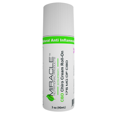 CBD Chiro Cream Roll-On 3oz 175mg