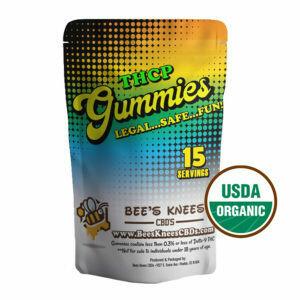 USDA Certified Organic Vegan THCP 15mg Gummies 15ct per bag