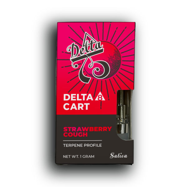 Delta 8 Vape Cartridge (Strawberry Cough)