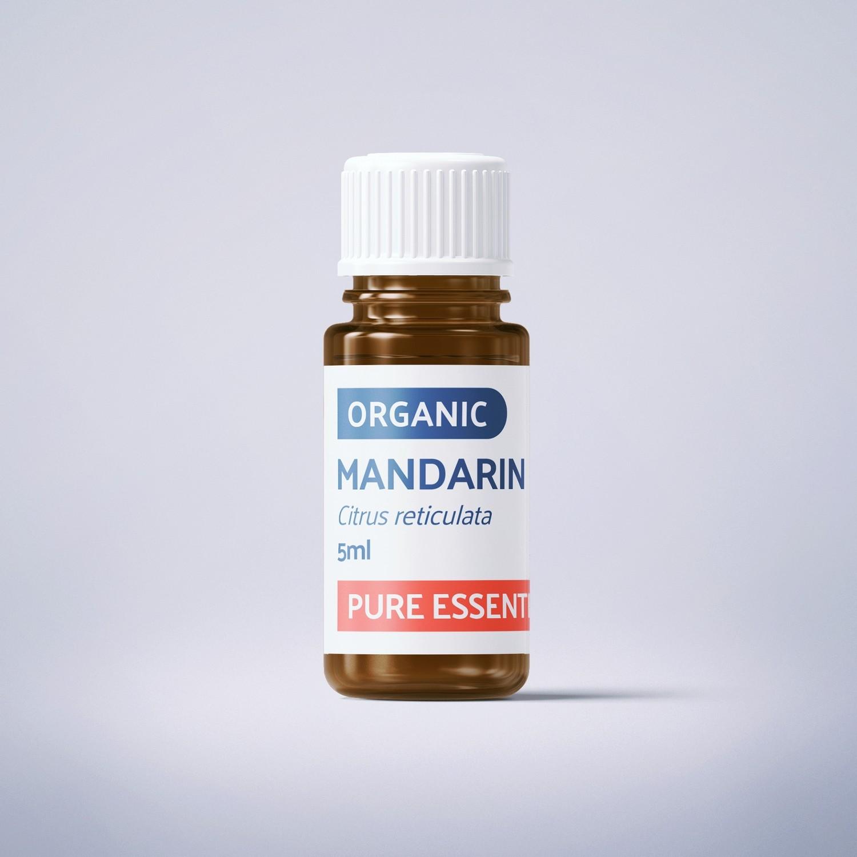 Organic Mandarin - 5ml - 100% Pure Essential Oil