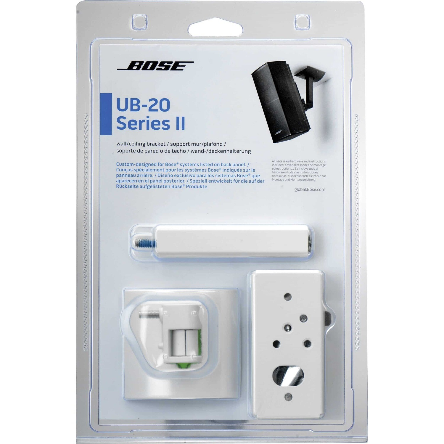 BOSE® Product: UB-20 Series II Wall/Ceiling Bracket - White
