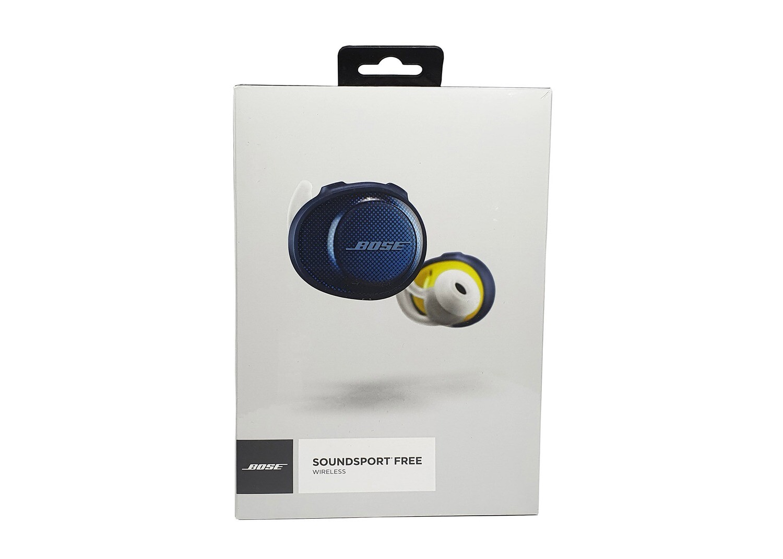 BOSE® SoundSport Free Wireless Earphones - Blue / Citron