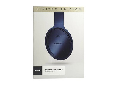 BOSE® QuietComfort 35 wireless headphones II Limited Edition - Triple Midnight