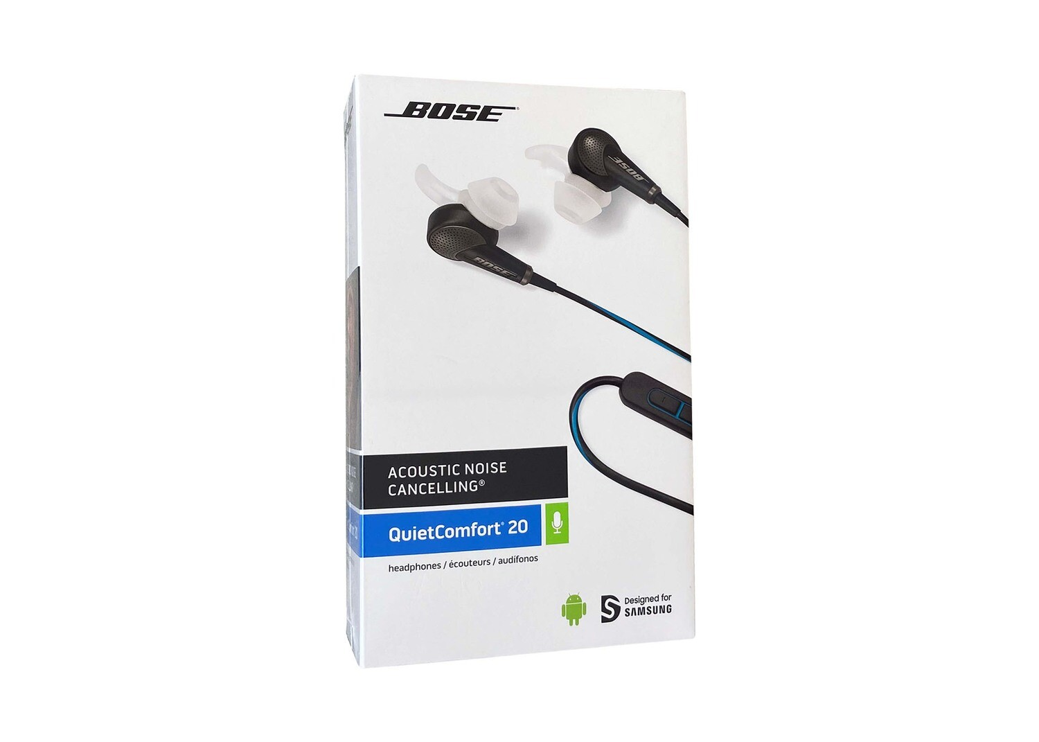 BOSE® QC20 Acoustic Noise Cancelling in-ear headphones for Samsung Black