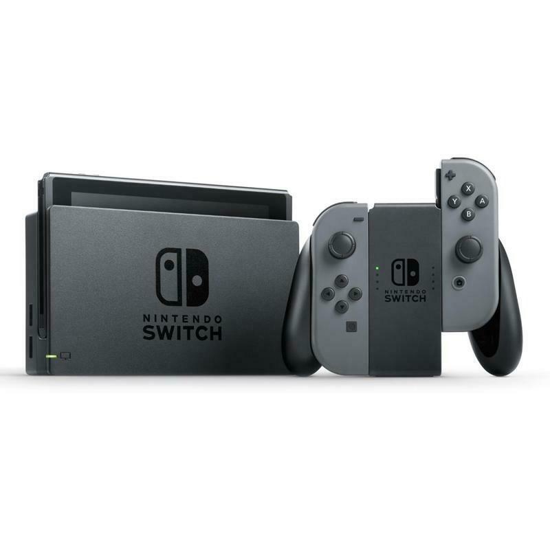 Nintendo Switch Console Grey (Gen 2)