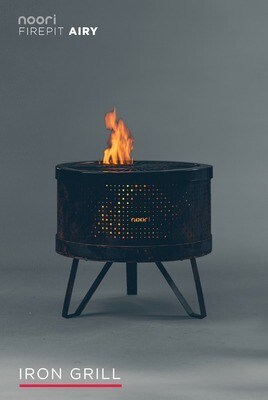 Noori® FirePit AIRY - Grill