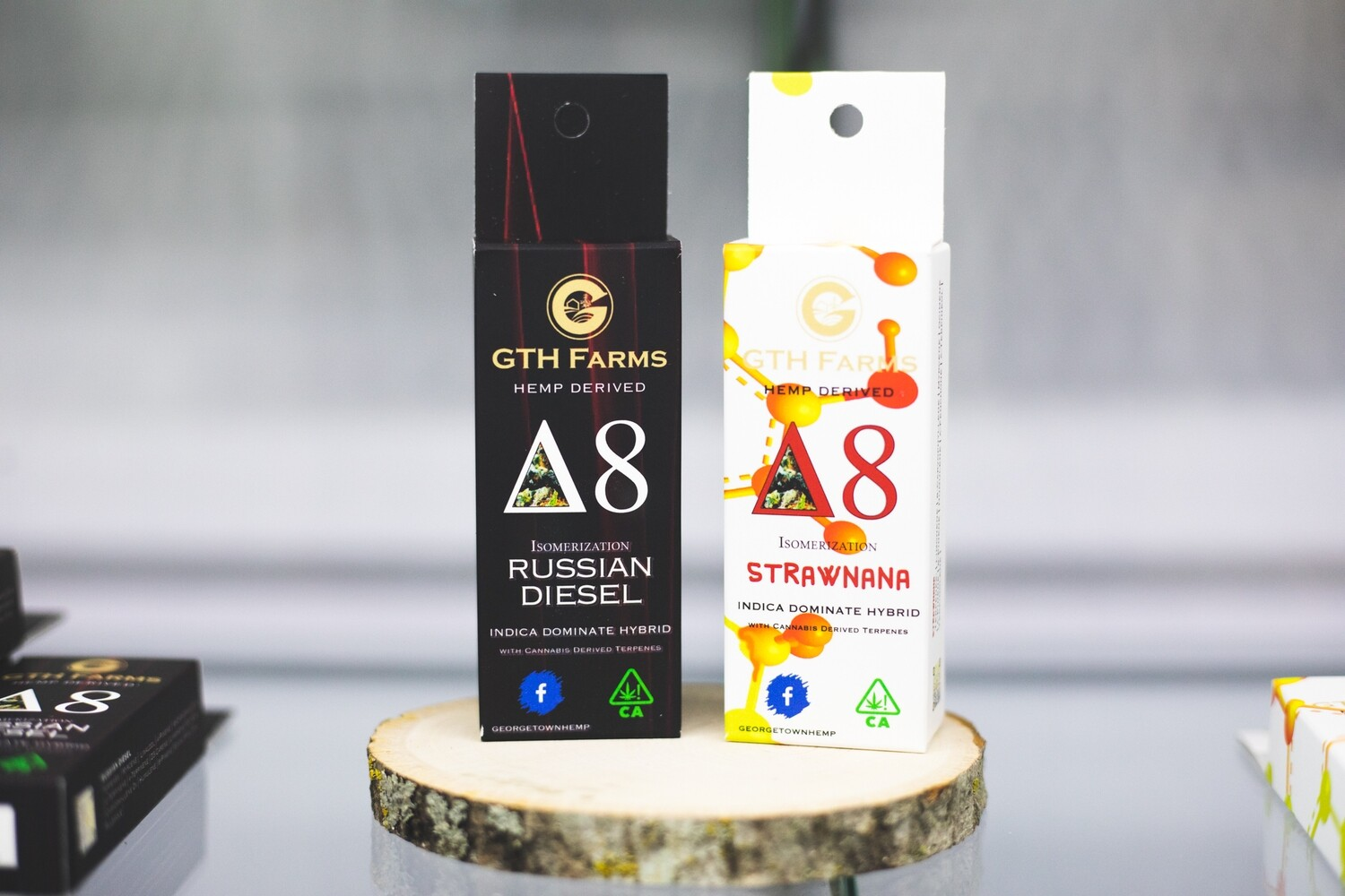Hemp-Derived Delta 8 Vape Carts by GTH Farms