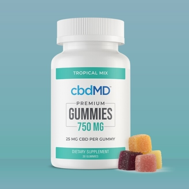 CBDMD Gummies THC Free