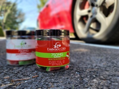 Embrace CBD Broad Spectrum THC Free Gummies