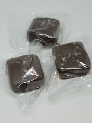 ▲8 Dark Chocolate Covered Sea Salt Caramels (AMAZING!)