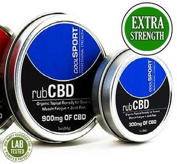 CBD Topical Remedies - Sport Cooling 300mg