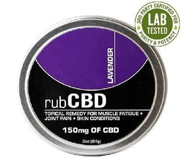 CBD Topical Remedy - Lavender 150mg