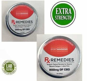CBD Topical Remedy - Sport Warming 300mg
