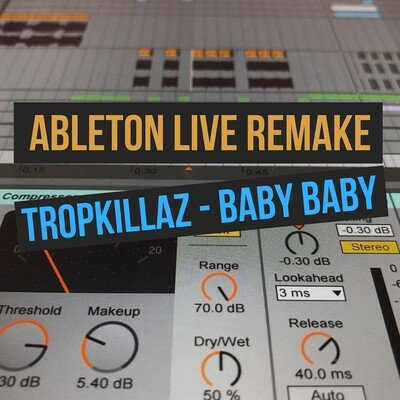 Tropkillaz - Baby Baby [Проект Ableton Live]