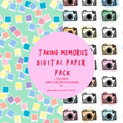 TAKING MEMORIES DIGITAL PAPER PACK