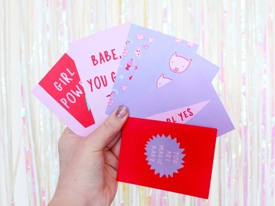 3x4 QUOTE CARDS