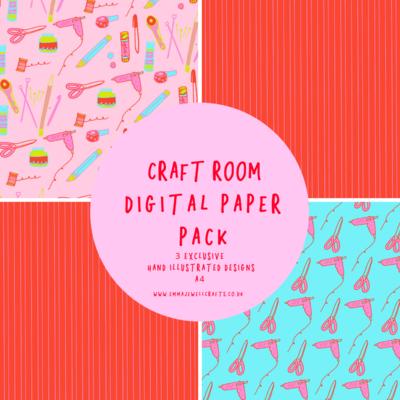 CRAFT ROOM DIGITAL PAPER PACK