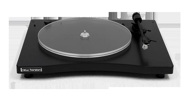 New Horizon GD 1.12, Plattenspieler mit Haube und System