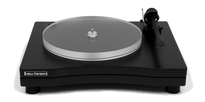 New Horizon GD 2.25 Plattenspieler mit Haube