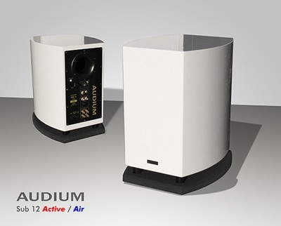 AUDIUM Sub 12 Aktiv-Subwoofer