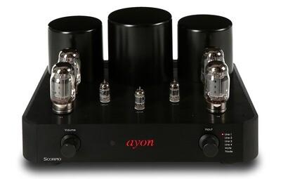 Ayon SCORPIO, Push-Pull Röhrenverstärker mit KT88, 2x 45W