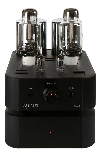 Ayon HA-3, Röhren-Kopfhörerverstärker mit AA45 Mesh Trioden