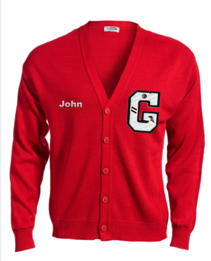 VARSITY LETTERMAN SWEATER