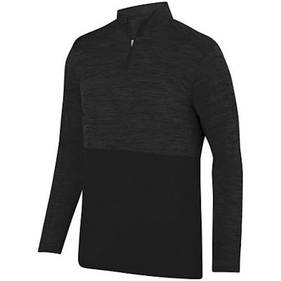 SHADOW TONAL HEATHER 1/4 ZIP PULLOVER
