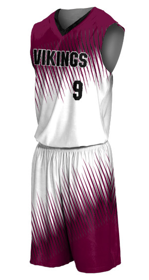 PREMIUM SUBLIMATION BASKETBALL JERSEY AND SHORTS