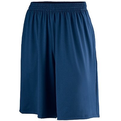 POLY/SPANDEX SHORTS WITH POCKETS