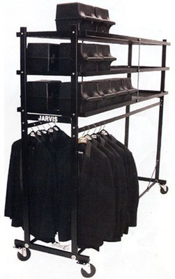 HAT & GARMENT RACK