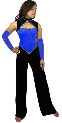 BERMUDA COLOR GUARD JUMPSUIT