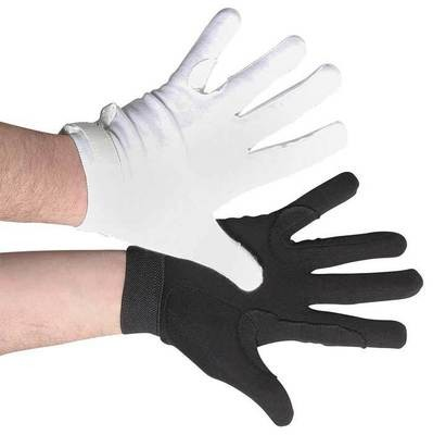 DELUXE SURE GRIP VELCRO COTTON GLOVES