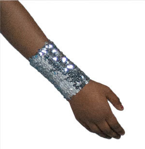 SEQUIN 4 INCH CUFFS