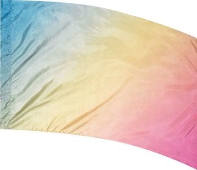 PASTEL MULTI SHADED FLAG